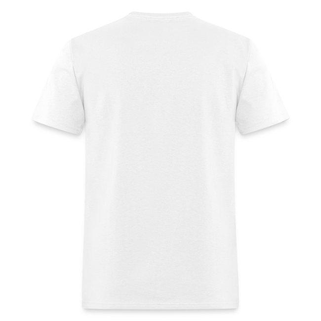 mens subway white tshirt