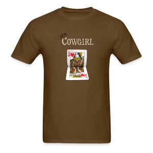 Ride it Cowgirl - Men's T-Shirt