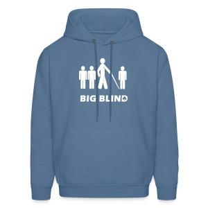 Big Blind - Men's Hoodie