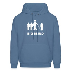 Big Blind - Men's Hoodie