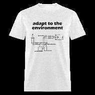T-Shirts ~ Men's T-Shirt ~ Adapt to the Environment (adaptive optics)