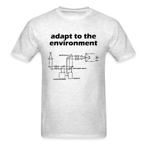 Adapt to the Environment (adaptive optics) - Men's T-Shirt