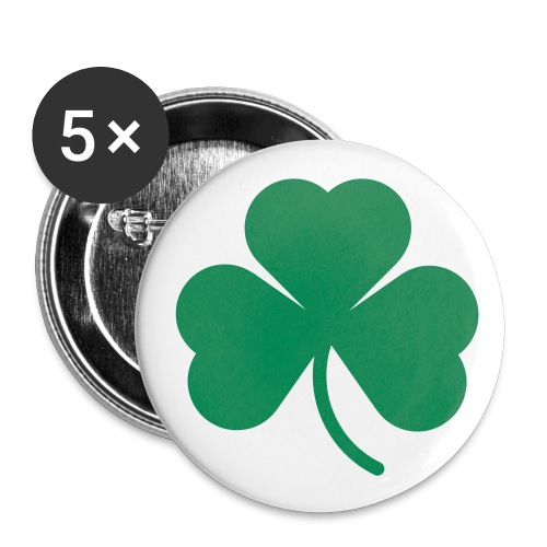 Shamrock Small Buttons - Buttons small 1'' (5-pack)