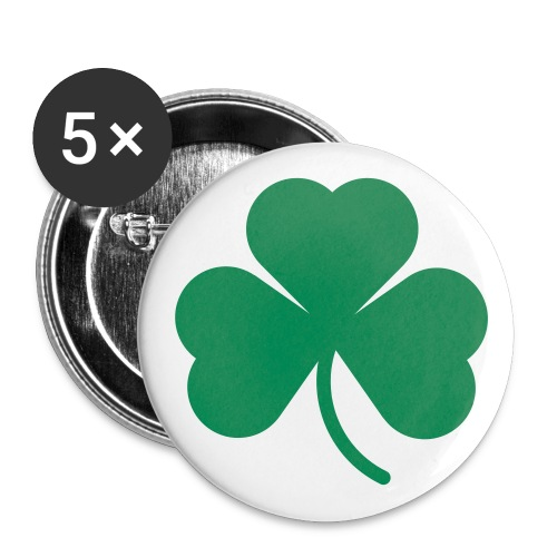 Shamrock Large Buttons - Buttons large 2.2'' (5-pack)