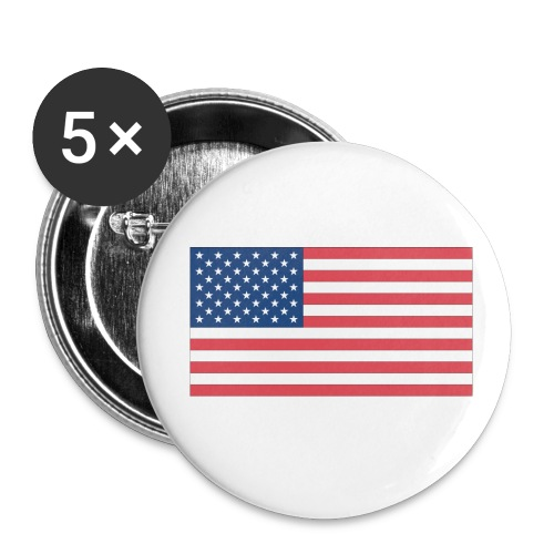 USA Flag Small Buttons - Small Buttons