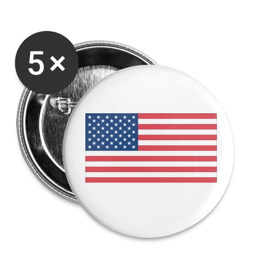 USA Flag Large Buttons - Large Buttons