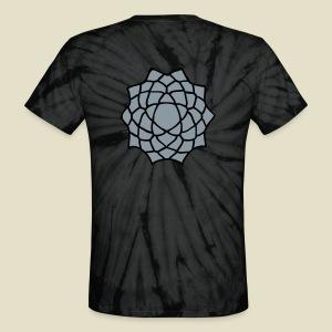 Lotus Flower - Unisex Tie Dye T-Shirt