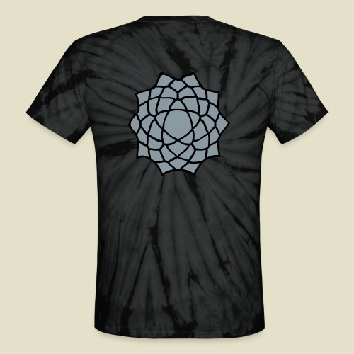 Lotus Flower - Unisex Tie Dye T-Shirt