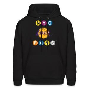 mens subway sweatshirt black - Men's Hoodie