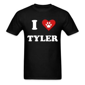 I Heart Tyler - Men's T-Shirt
