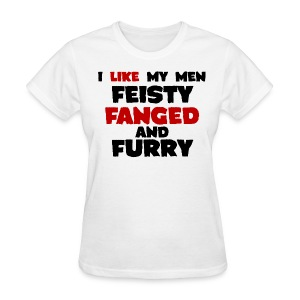 Feisty, Fanged, and Furry - Women's T-Shirt