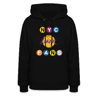 Hoodies ~ Women's Hoodie ~ womens subway sweatshirt black