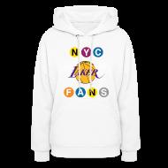 Hoodies ~ Women's Hoodie ~ womens subway sweatshirt white