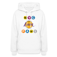 Hoodies ~ Women's Hoodie ~ womens subway sweatshirt white