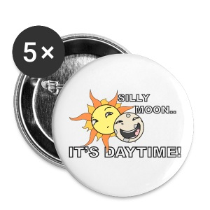 SILLY MOON! - Small Buttons