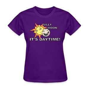SILLY MOON! - Women's T-Shirt