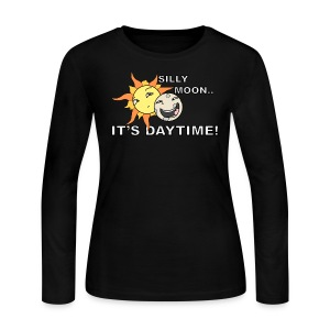 SILLY MOON! - Women's Long Sleeve Jersey T-Shirt