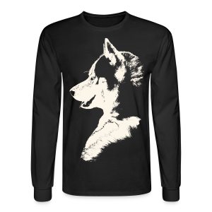 Men's Husky Shirt Siberian Husky Shirts & Gifts - Men's Long Sleeve T-Shirt