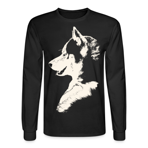 Men's Husky Shirt Siberian Husky Shirts & Gifts - Men's Long Sleeve T-Shirt