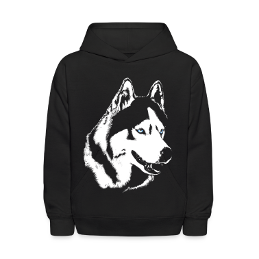Husky Hoodie Siberian Husky Kid's Shirts & Gifts