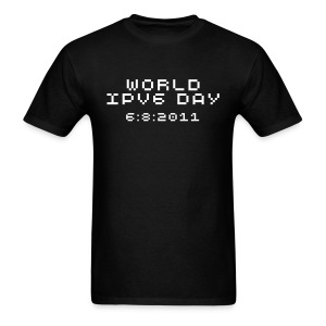 IPv6 DAY SHIRT - Men's T-Shirt