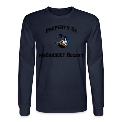 Property Of MsConduct - Men's Long Sleeve T-Shirt