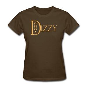 Whoa Dizzy Logo Women's T-Shirt - Women's T-Shirt