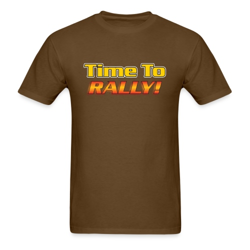 I Love to rally - Men's T-Shirt