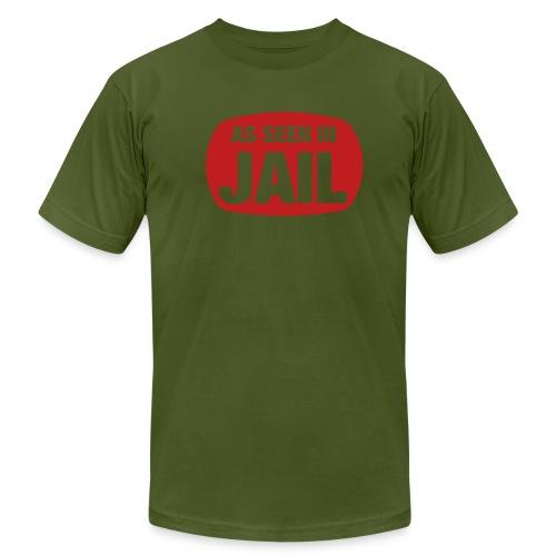 As seen in jail ! - Men's Fine Jersey T-Shirt