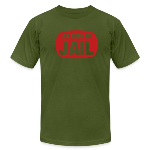 As seen in jail ! - Men's  Jersey T-Shirt