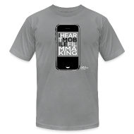 T-Shirts ~ Men's T-Shirt by American Apparel ~ Mobile Filmmaking