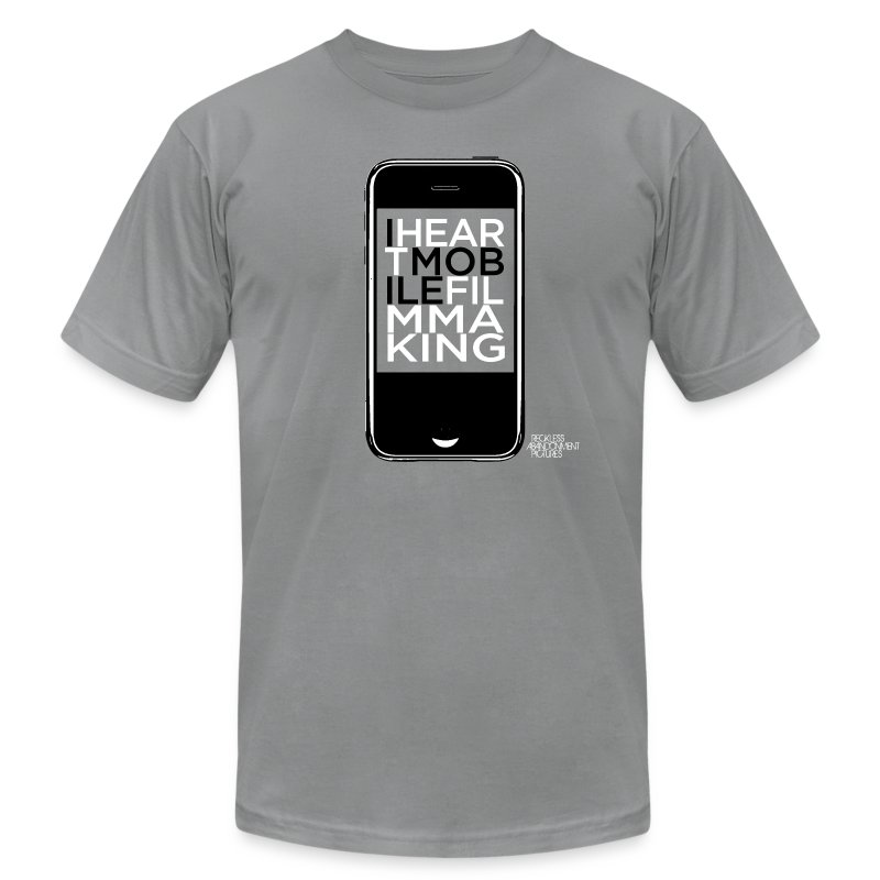 Mobile Filmmaking - Men's T-Shirt by American Apparel