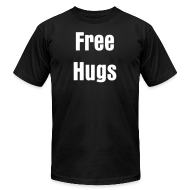 T-Shirts ~ Men's T-Shirt by American Apparel ~ Free Hugs