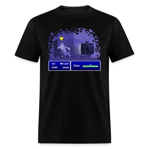 Real Life Final Fantasy - Men's Black T - Men's T-Shirt