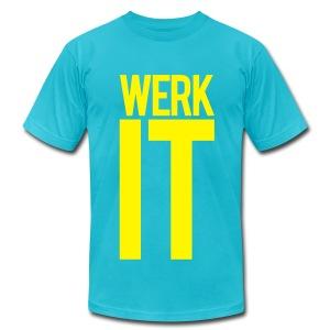 Werk It. - Men's Fine Jersey T-Shirt
