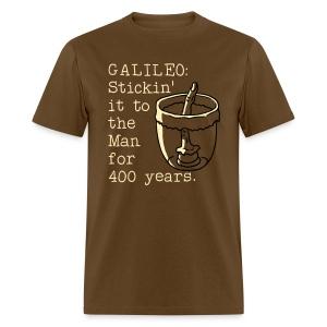 Galileo's Finger - Men's T-Shirt