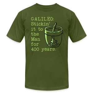 Galileo's Finger - Men's T-Shirt by American Apparel