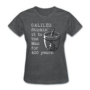 Galileo's Finger - Women's T-Shirt