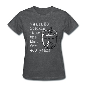 Galileo's Finger - Women's T-Shirt