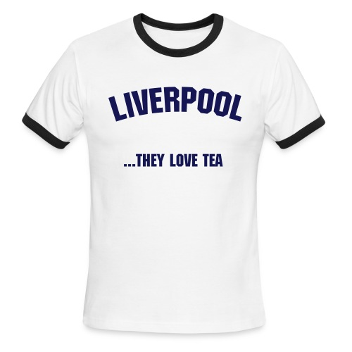 Liverpool Tea - Men's Ringer T-Shirt