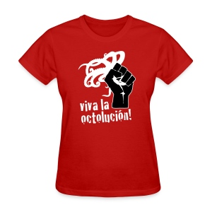 Women's Viva La Octolución (Red) - Women's T-Shirt