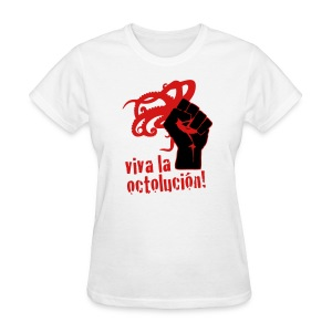 Women's Viva La Octolución (White) - Women's T-Shirt