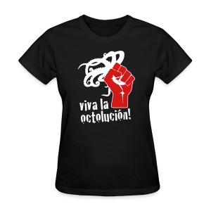 Women's Viva La Octolución (Black) - Women's T-Shirt