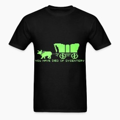 dysentery (for dark bkg) T-Shirts