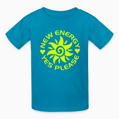 NEW ENERGY sun | children's shirt