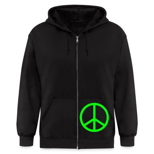 peace prono - Men's Zip Hoodie