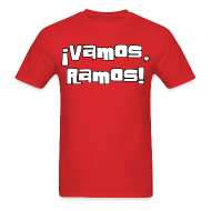 T-Shirts ~ Men's T-Shirt ~ Vamos, Ramos! With number on back.