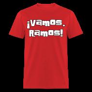 T-Shirts ~ Men's T-Shirt ~ Vamos, Ramos! No number on back.