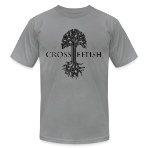Cross-Fetish - Men's T-Shirt by American Apparel