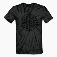 FLOWER OF LIFE - vector | unisex tie dye shirt